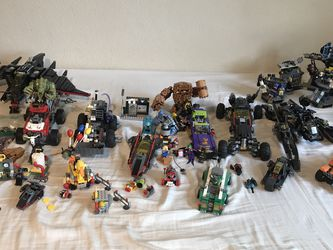 LEGO Batman Sets All 12. Plus Instructions, Mini figures, Alego Bag, And Extra Mini figures for Sale in Hayward,  CA
