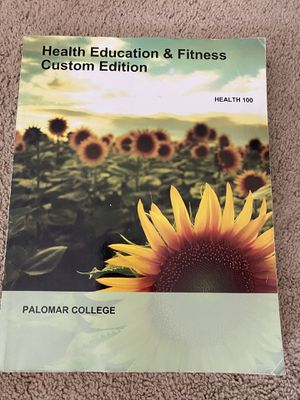 Health education & fitness custom edition by Palomar college for Sale in Oceanside, CA