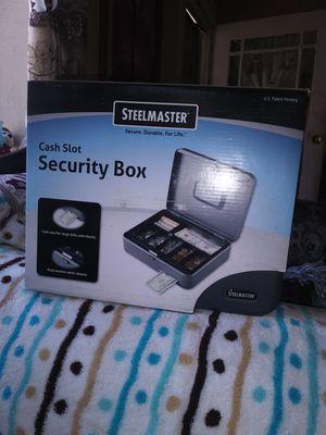 Cajas de seguridad para dinero y joyas trae su propia llaves nuevas $25 por caja for Sale in Los Angeles, CA