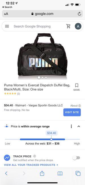 Puma duffle bag for Sale in Gresham, OR