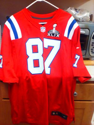 I'm selling my patriots jersey XL adult size rob gronkowski throwback.. .new for Sale in Los Angeles, CA