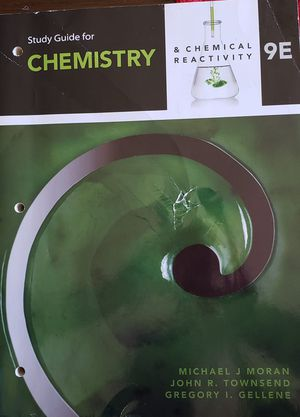 Study Guide for Chemistry & Chemical Reactivity 9E for Sale in Lake Park, NC