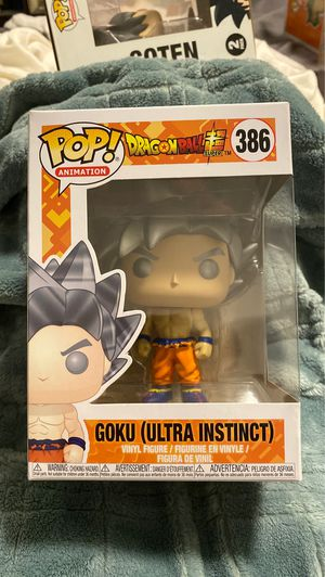 Goku Ultra Instinct funko pop mint for Sale in San Jose, CA