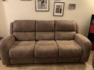 Electric Reclining Sofa for Sale in San Diego, CA