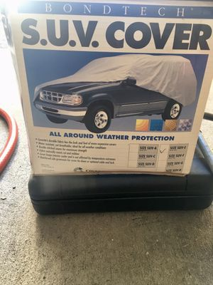 Literally used one time BondTech Suv Cover Will Fit all Suv for Sale in North Bergen, NJ