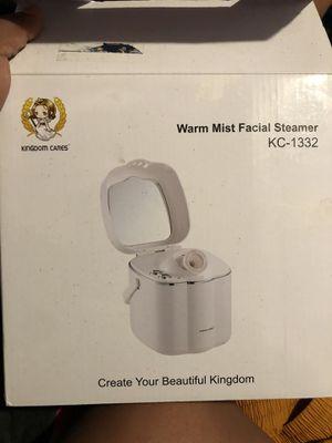 Warm mist facial steamer for Sale in Visalia, CA