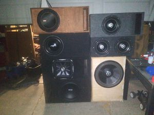 SUBWOOFERS!!!!! for Sale in Whittier, CA