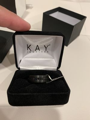 Men wedding ring/band new never worn size 10/10.5 for Sale in San Francisco, CA