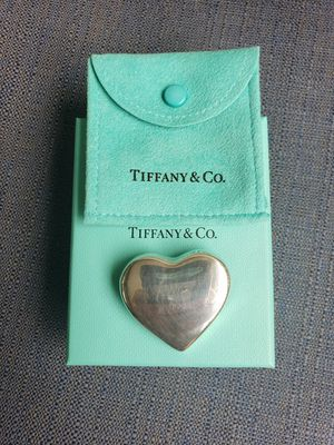 Authentic Tiffany Puffy Heart Broach for Sale in Reston, VA