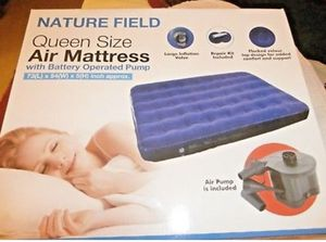 New Nature Field Queen size Air Mattress for Sale in Palos Hills, IL