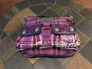 COACH tartan poppy collection for Sale in Tampa, FL