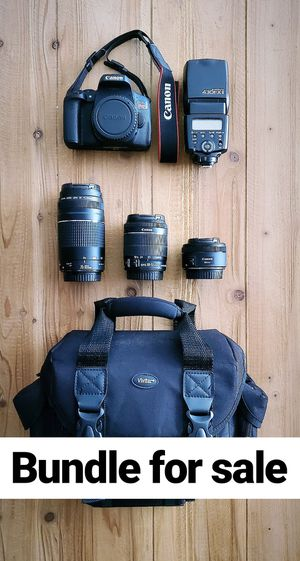 Canon EOS Rebel T6i Bundle FOR SALE for Sale in Hialeah, FL
