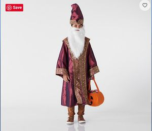 Pottery Barn Kids Dumbledore costume *NEW* for Sale in Irvine, CA