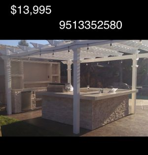 Media walls.. BBQ islands.. palapas.. firepits.. grill for Sale in Irvine, CA