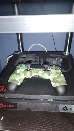 500 GB PS4 slim & Custom controller for Sale in Baltimore, MD
