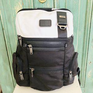 TUMI ✨HTF✨ Alpha Bravo Knox Backpack White/Black for Sale in Bonney Lake, WA