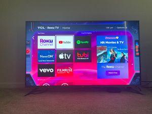 TCL 55 Inch 4K Smart LED Roku TV for Sale in Woodbridge, VA