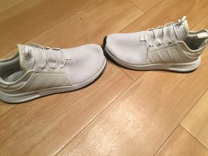 Adidas climalite white sneaker sz 9 for Sale in West Palm Beach, FL