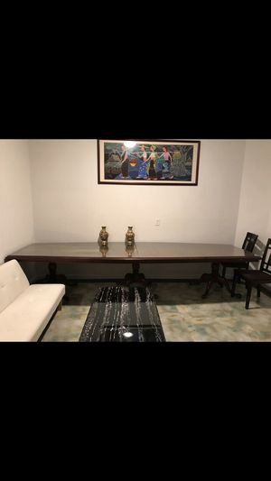 Long Elegant Dining Table 15ft x4ft. $1,000 for Sale in Philadelphia, PA