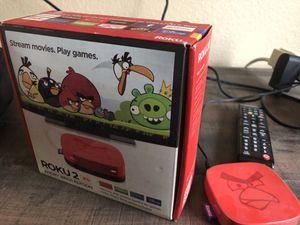 Roku 2 box with remote for Sale in Chula Vista, CA