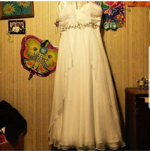 White prom dress size 18 for Sale in Lewes, DE