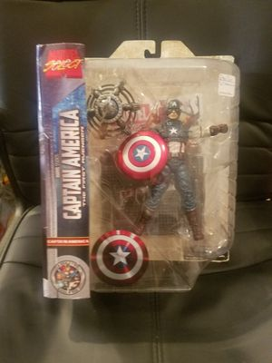 Marvel Select Captain america action figure for Sale in Leander, TX