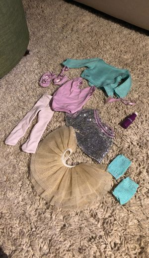 American Girl Doll Ballet Barre & Outfit Set for Sale in Englewood, CO
