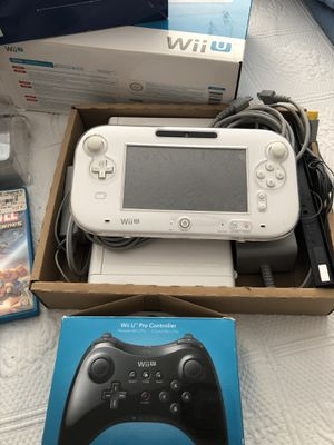 Wii U barely used for Sale in Pompano Beach, FL