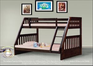 AWESOME DEAL BRAND NEW TWIN FULL WOODEN BUNK BED for Sale in West Milwaukee, WI