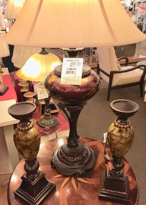 Lamps Plus matching Pair for Sale in Beverly Hills, CA