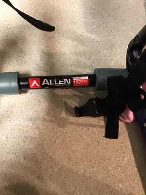 Allen 102DN 2Bicycle Trunk Mounted Bike Rack for Sale in Midvale, UT