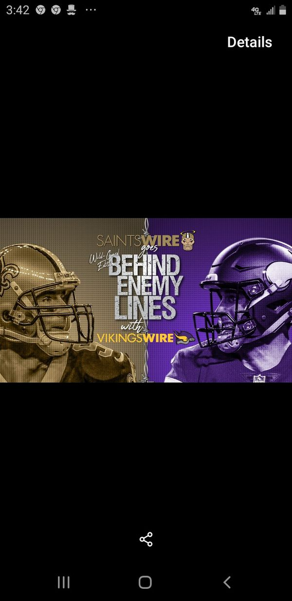 Playoffs tix Saints VS Vikings