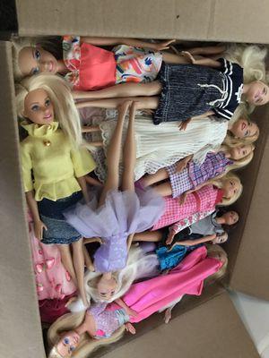 Large Lot Disney Barbie Dolls - 60 for Sale in San Leandro, CA