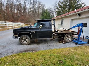 86 Chevy scottsdale with flat bed OBO for Sale in Birdsboro, PA