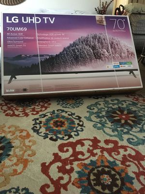 "Brand new 70"" LG smart tv for Sale in Warner Robins, GA"