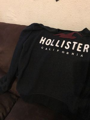 2 HOLLISTER MEN SWEATERS SIZE XL THE BLUE ONE ONLY WORN ONCE AND THE RED ONE IS NEW WITH TAGS ASKIN $35 FOR BOTH for Sale in Winton, CA