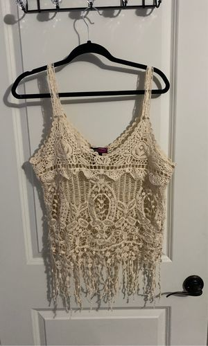 Fringe tank top for Sale in Algonquin, IL