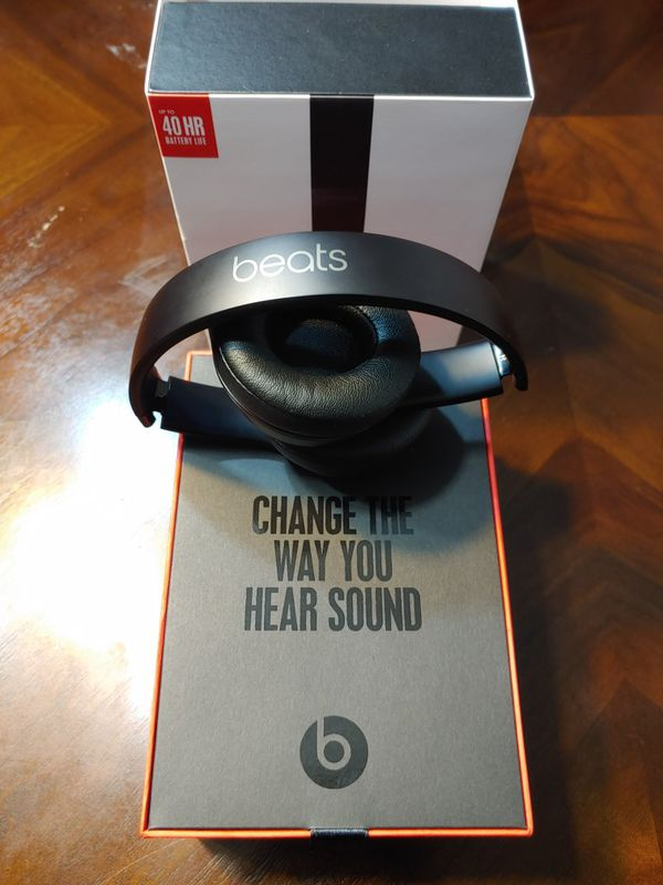 Beats solo 3's by Dr. Dre