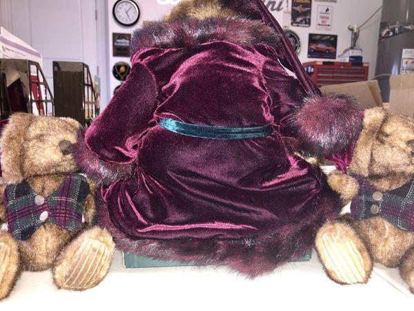 CHRISTMAS TEDDY BEAR SET