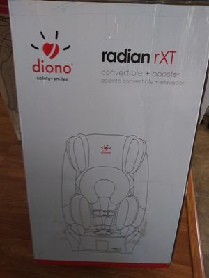 Car seat booster Diono. Radiant rtx NEW for Sale in Hawthorne, CA