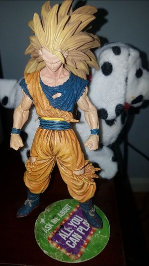 Goku super saiyan 3 original action figure for Sale in Herndon, VA