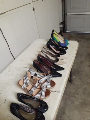 Six different brands of high heels for $5 each pair for Sale in Fresno, CA