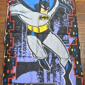 Vintage 1992 Kid's Batman Sleeping Bag for Sale in Midlothian, VA