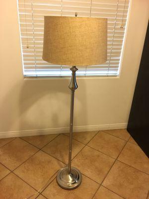 Stainless steel floor lamp for Sale in Los Angeles, CA