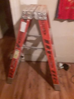 Werner 4ft aluminum step ladder for Sale in Cleveland, OH