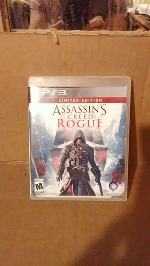 PS3 ASSASSINS CREED. ROGUR Limited Edition like new make offer for Sale in Modesto, CA