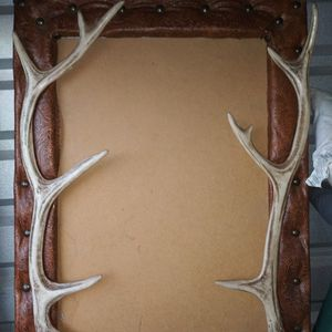 Antlers and Leather picture Frame for Sale in Mansfield, TX