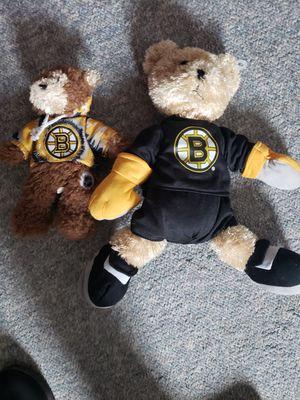 Bruins stuffed animals for Sale in Brockton, MA