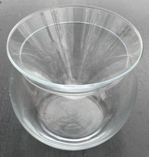 Clear Glass Terrarium Planter Jar Apothecary Vinegar Oil Canister for Sale in Chapel Hill, NC