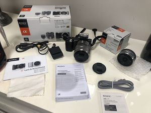 Sony Camera and Lens for Sale in Middletown, CT